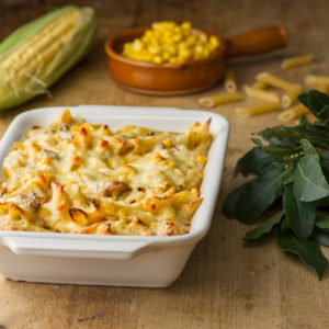tuna-sweetcorn-pasta-bake
