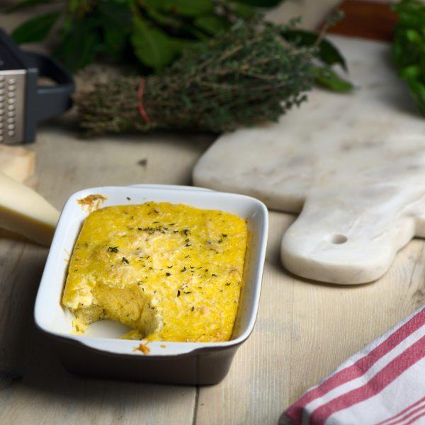 Creamy Parmesan-and-Thyme-Polenta