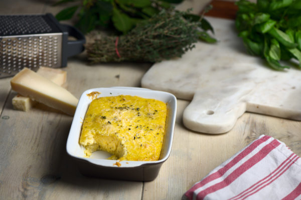 Creamy Parmesan-and-Thyme-Polenta